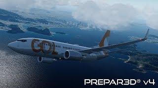 Prepar3D v4 3   Nairobi to Amsterdam   HKJK-EHAM   PMDG 747-400BCF