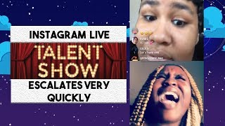 Download Talent show escalates very quickly Video