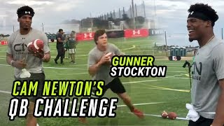 Download Cam Newton TURNS UP At Epic QB Skills Challenge! Top 8th Grade QB Gunner Stockton STEALS THE SHOW 😯 Video