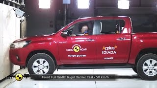 Download 2016 Toyota Hilux - Crash Test Video