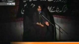 Download Allama Nasir Abbass Majlis Shame Ghariban 2010-13 part 1 Video