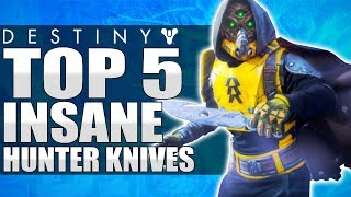 Download INSANE / LUCKY HUNTER THROWING KNIFE PLAYS - Top 5 Hunter Throwing Knives Of The Week / Episode 460 Video