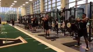 Download 2014 Army Football Strength Training Video