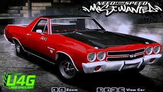 Download NFS Most Wanted 2005 Mods - Chevrolet El Camino SS 1970 Video