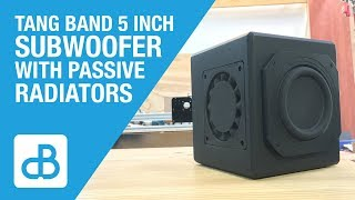 Download Small Subwoofer Build with Tang Band Driver - by SoundBlab Video