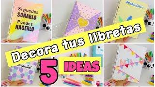 Download IDEAS para DECORAR tus LIBRETAS Video