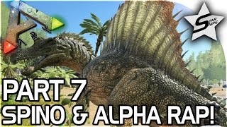 Download SPINOSAURUS, CLOSE ALPHA RAPTOR ENCOUNTER - ARK Survival Evolved PS4 PRO Gameplay Part 7 Video