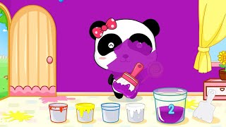 Download Baby Learn Colors with Little Panda Color Mixing Fun - Baby Panda Kids games Video