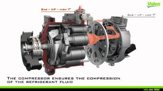 Download The compressor, a central part of the A/C loop by Valeo Video