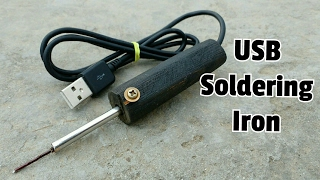 Download How to Make a USB Soldering iron at home Video