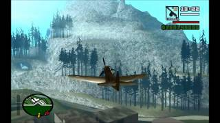 Download WWII aircraft sounds for GTA San Andreas Video