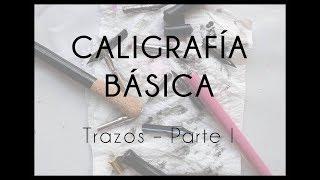 Download TUTORIAL - Caligrafía Básica - Trazos I Video
