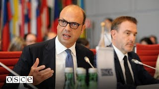 Download The address of the incoming Chairperson-in-Office, Italian Foreign Minister Angelino Alfano Video