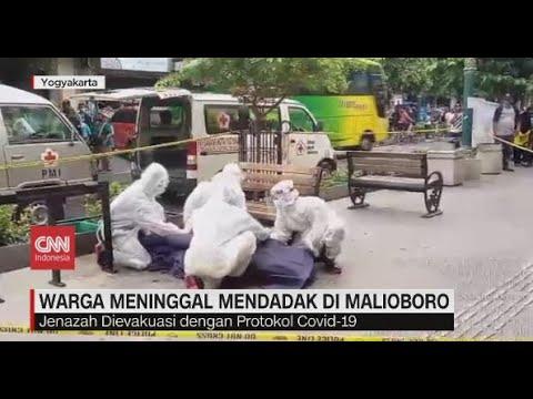 Warga Meninggal Mendadak di Malioboro, DIevakuasi dengan Protokol Covid-19