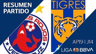Download Resumen   Veracruz vs Tigres UANL   Jornada 14 - Apertura 2019   Liga BBVA MX Video
