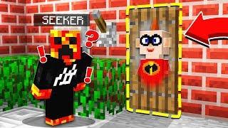 Download WORST HIDER EVER!   The Incredibles 2 HIDE & SEEK! - Minecraft Mods Video