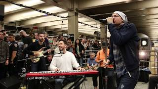 Download Linkin Park LIVE in Grand Central Station: ″What I've Done″ Video