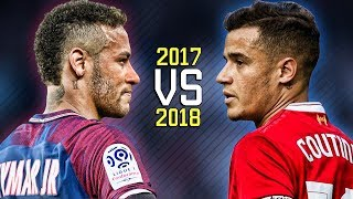 Download Neymar Jr vs Philippe Coutinho ● Skills Battle   Who's the most skillful? 2017/2018 HD Video