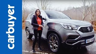 Download SsangYong Rexton 2018 SUV review - Ginny drives Korea's vast seven-seat SUV - Carbuyer Video