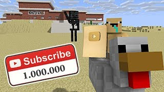Download Monster School : 1 MILLION SUBSCRIBER SPECIAL - Minecraft Animation Video