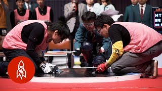 Download The Freakishly Fast World of Robot Sumo Video