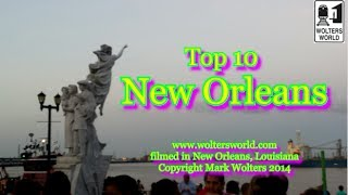 Download Visit New Orleans - Top 10 Sites in New Orleans, Louisiana Video