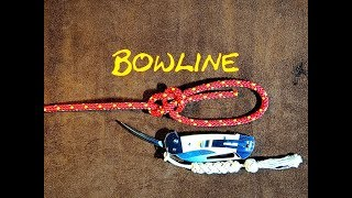 Download Bowline, Dutch Bowline, Cowboy Bowline - Bowline How to Tie - Quick Tie Bowline Tutorial Video