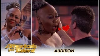 Download Simon Cowell Falls In LOVE With 'Ms. Trysh' But Then... | America's Got Talent 2018 Video