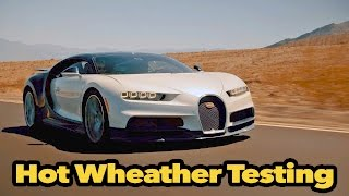 Download BUGATTI CHIRON Hot Weather Testing Video