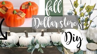 Download Dollar Store Farmhouse FALL DIY Video