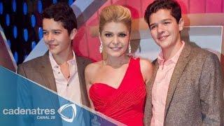 Download Itatí Cantoral se siente orgullosa de que sus hijos hayan debutado en televisión Video