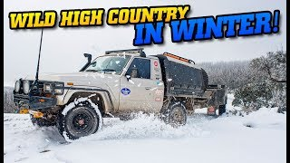 Download WILD WINTER in the High Country • This track nearly broke us Video