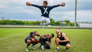 Download YOU'VE NEVER SEEN CATCHES LIKE THIS BEFORE.. (FOOTBALL H.O.R.S.E. vs MY FRIENDS) Video