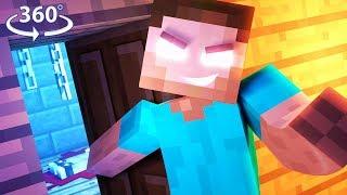 Download LOST! IN HEROBRINE'S HOTEL - 360° Minecraft Video Video