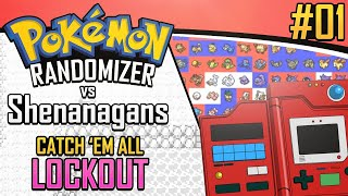 Download Pokemon Randomizer Catch 'Em All LOCKOUT vs Shenanagans #1 Video