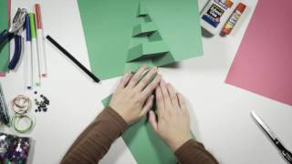 Download Make your own pop-up Christmas card: Christmas tree Video