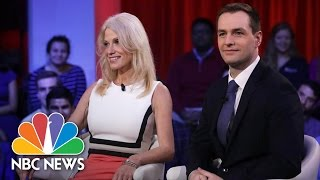 Download Donald Trump And Hillary Clinton Aides Tussle Over Campaign At Harvard | NBC News Video