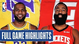Download LAKERS at ROCKETS | FULL GAME HIGHLIGHTS | January 18, 2020 Video