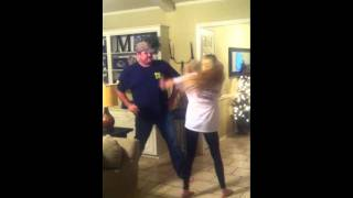 Download DADDY VS. DAUGHTER DUBSTEP DANCE OFF Video