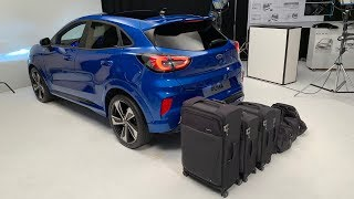 Download FORD PUMA 2020 - new small SUV, biggest trunk space in class demonstration Video