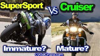 Download SuperSport vs Cruiser Community - Biker Immaturity - Ghetto Trip Video