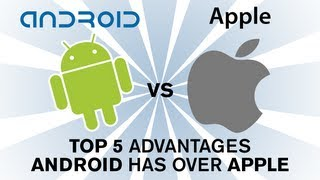 Download Android vs Apple iOS - Top 5 reasons Android is better than Apple (Part 1) Video