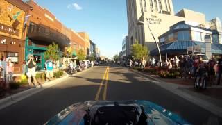 Download Reflexions Funnycar Cruising downtown Battle Creek, 2013 Video