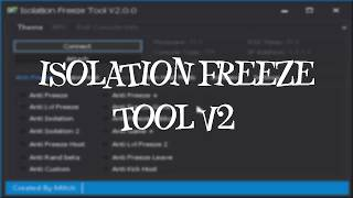 Download [Bo2/1.19] ISOLATION FREEZE TOOL V2 | BEST FREEZE TOOL | FREEZE HOST, FREEZE INGAME, FREEZE CUSTOM Video