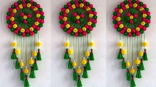 Download DIY Easy Woolen Wall Hanging !!! Creative Usefull DIY!! Home Decorative Idea | DIY Projects Video