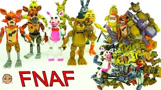Download FNAF In Pieces Complete Set Of Five Night's At Freddy's Funko + Surprise Blind Bags Video