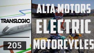 Download Alta Motors Electric Motorcycles | Translogic 205 Video