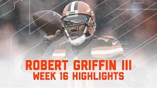 Download Robert Griffin III Guides the Browns to their First Win of 2016! | NFL Week 16 Player Highlights Video