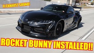 Download Introducing my Widebody Toyota Supra!! Video