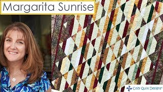 Download Margarita Sunrise Strip Presentation by Cozy Quilt Designs Video